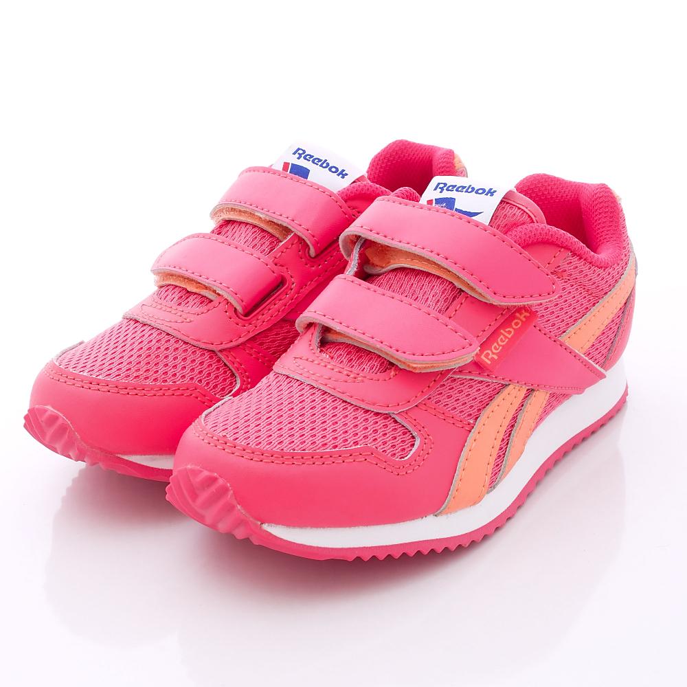 Reebok頂級童鞋-雙絆帶慢跑款-M47226桃(中大童段)N