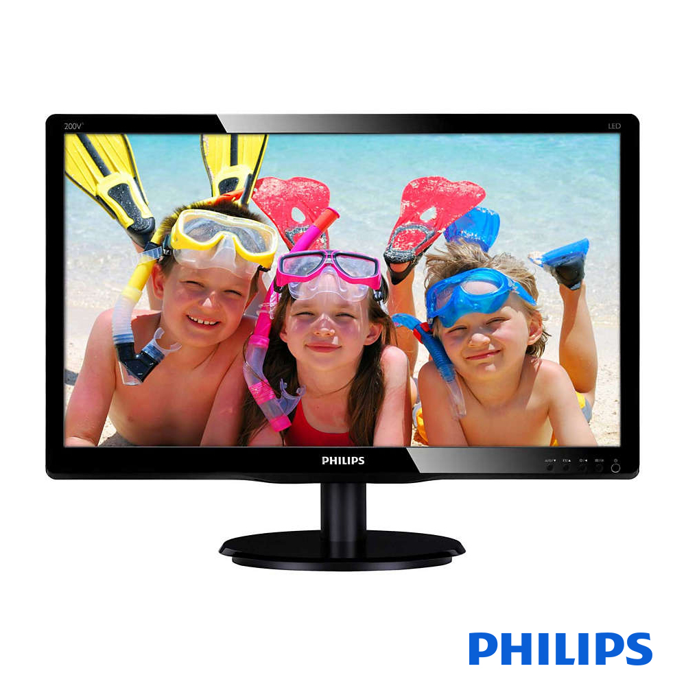 PHILIPS 200V4QSBR 20型MVA寬液晶螢幕顯示器