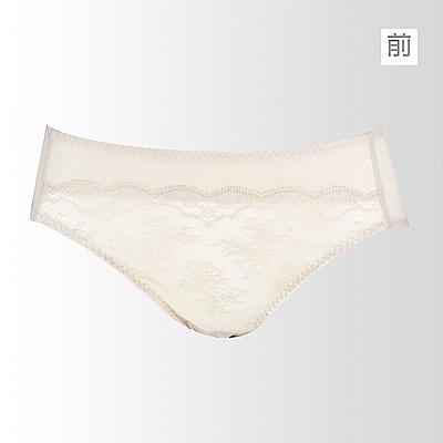 蕾黛絲-瘦型小妹大搭配中腰內褲 L-EQ(米白杏)