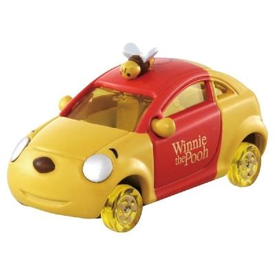 任選 Dream TOMICA 迪士尼 DM-18 小熊維尼蜂蜜車 (蜂蜜輪) 多美小汽車