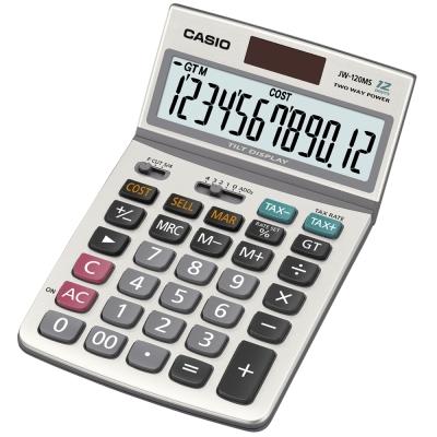 CASIO卡西歐 12位數CASIO商用計算機JW-120MS