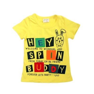 魔法Baby 兒童短袖舒適T恤 k39474