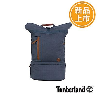Timberland 藍色RollTop上捲式後背包