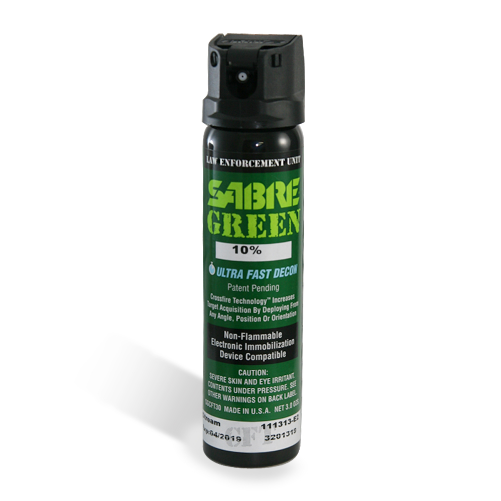 SABRE沙豹防身噴霧器-綠配方哇沙斃360°家庭型