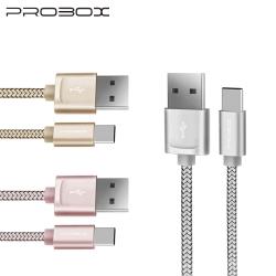 PROBOX Type-C USB3.1高速編織傳輸充電線 20cm