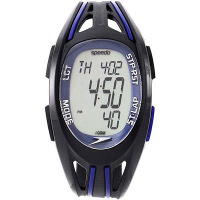 Speedo 衝鋒前陣電子腕錶-藍/37mm