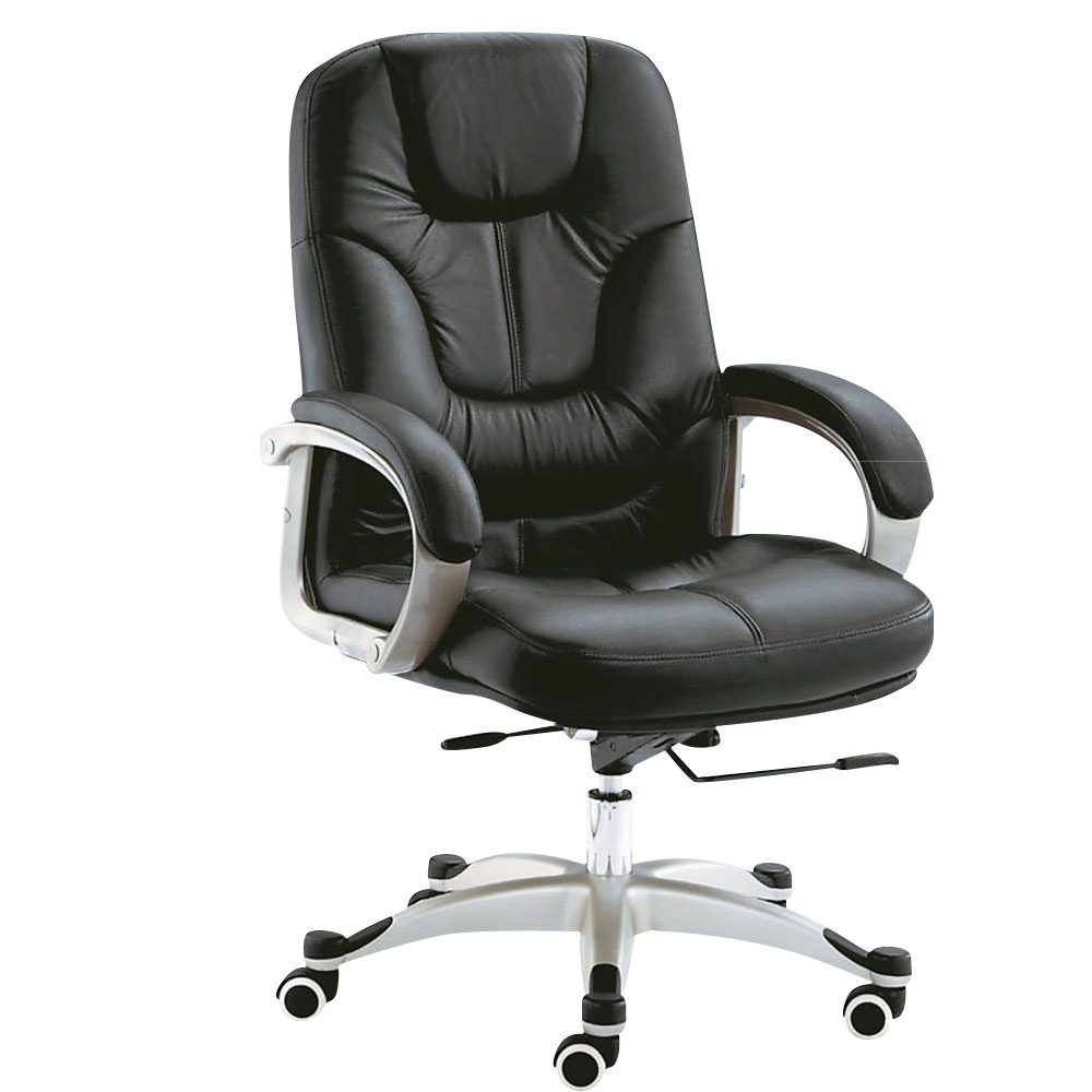 Bernice-奧斯半牛皮主管辦公椅-61x70x110cm