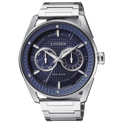 CITIZEN  雙日探星光動能時尚腕錶-BU4021-84L-41mm