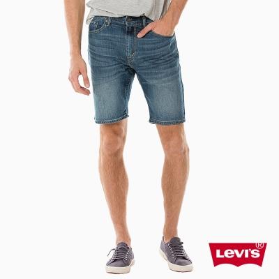 Levis 男款 牛仔短褲 505 中腰標準直筒