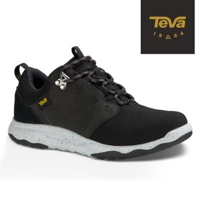 TEVA 美國-女 Arrowood WP 輕量防水機能休閒鞋 黑