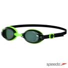 SPEEDO 成人基礎型泳鏡 Jet 綠-墨灰
