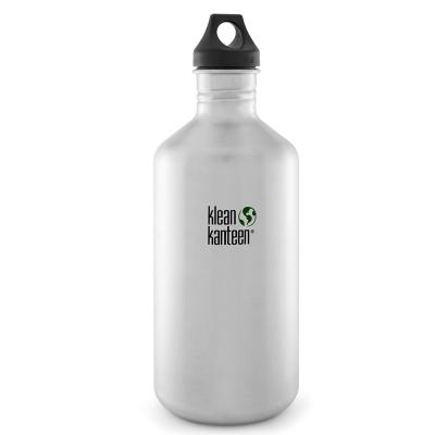 美國Klean Kanteen不鏽鋼瓶1900ml-原鋼色