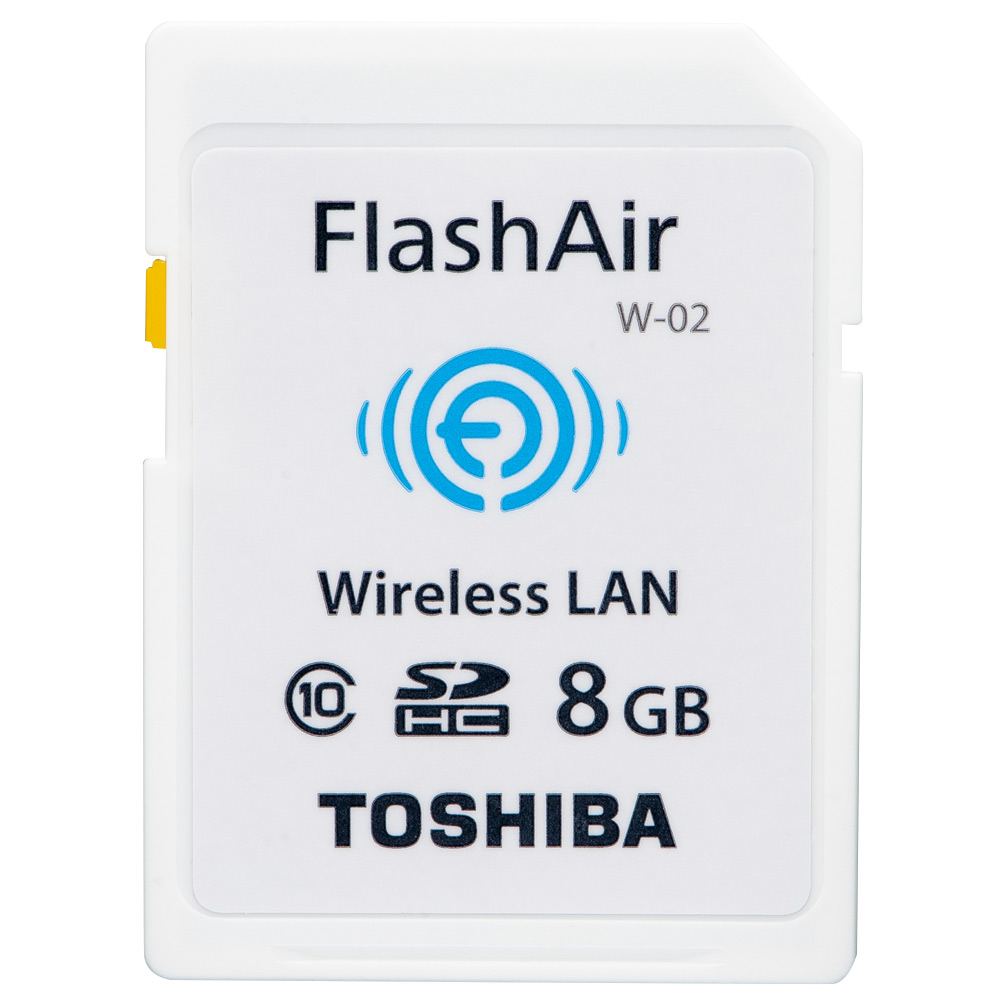 Toshiba 東芝 FlashAir Class10 SDHC 8GB