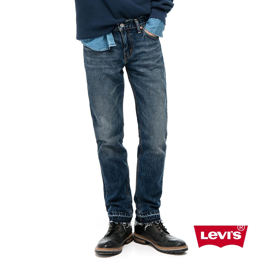 Levis 男款 511 低腰修身窄管牛仔長褲 / 硬挺厚磅