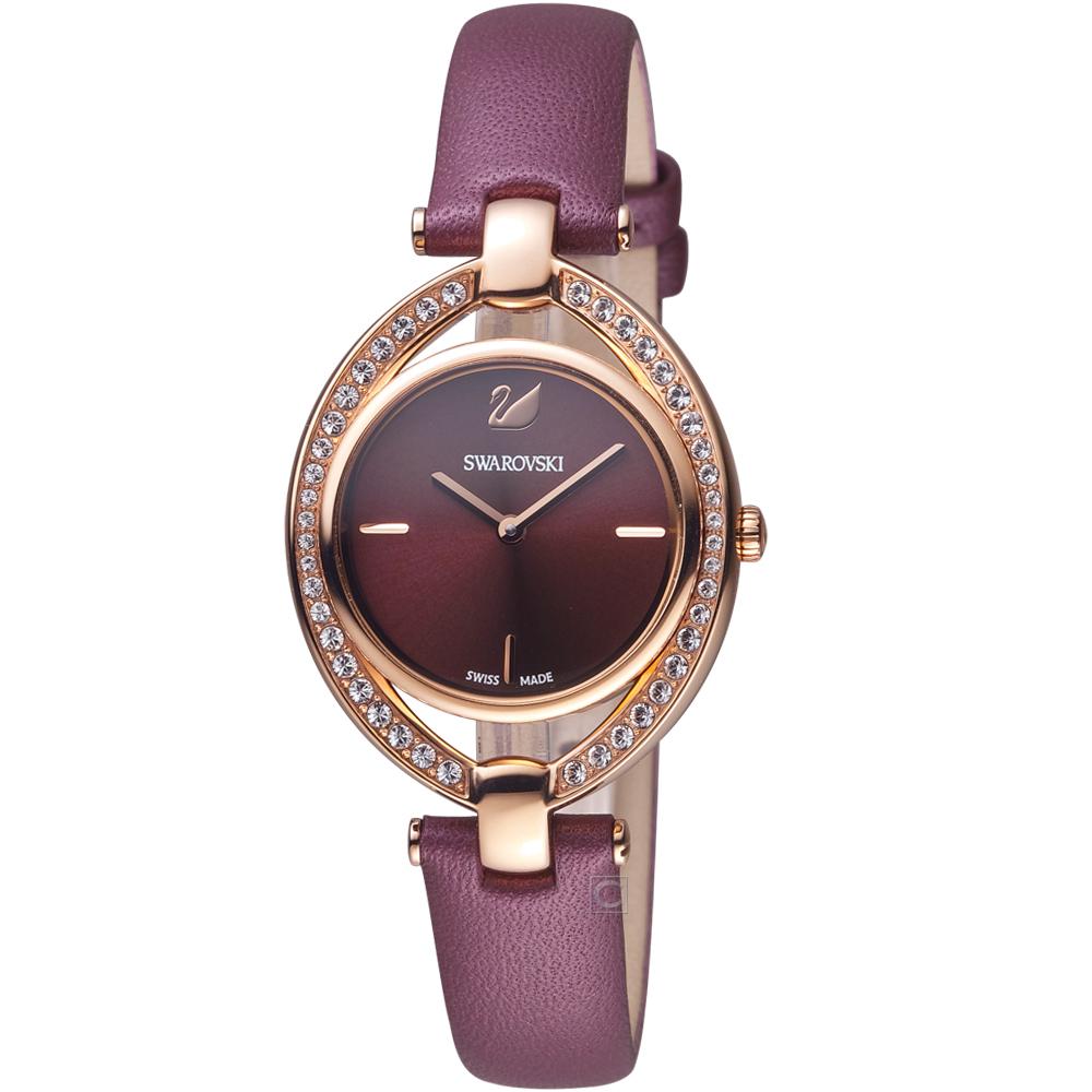 施華洛世奇SWAROVSKI Stella嫵媚流線時尚腕錶(5376839)