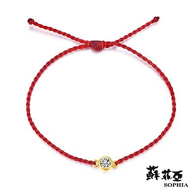 蘇菲亞SOPHIA - G LOVER系列典雅水晶黃金手環