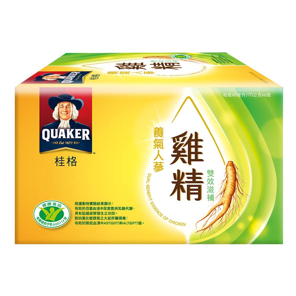 桂格 養氣人蔘雞精68ml*6入