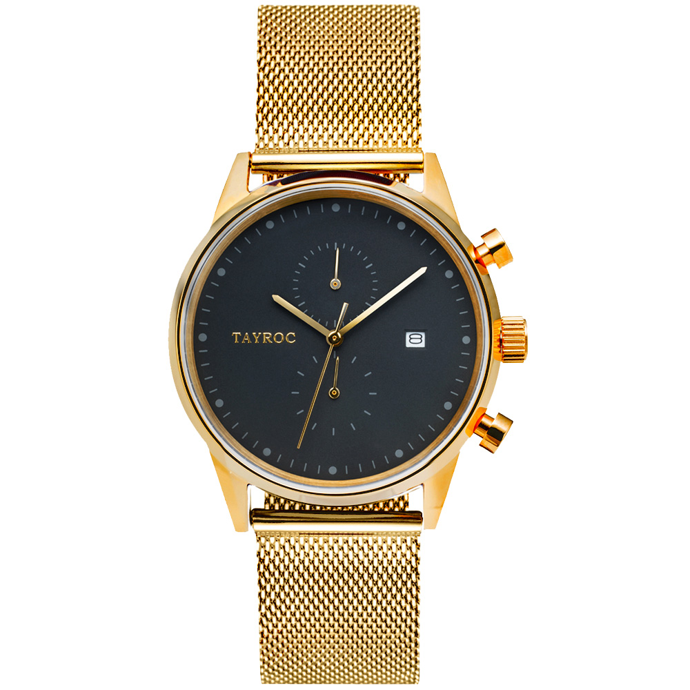 TAYROC 羅霸特二號計時腕錶(TXM090)-43mm