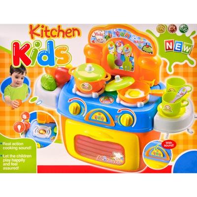 《Kitchen Kids》家家酒系列聲光趣味廚房瓦斯爐造型配件玩具組
