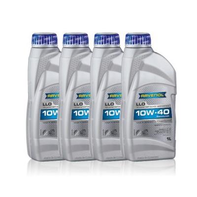 【RAVENOL漢諾威】RAVENOL LLO 10W40 合成機油(4入組)