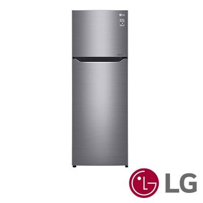 [無卡分期12期]LG 315公升Smart變頻冰箱(精緻銀)GN-L397SV