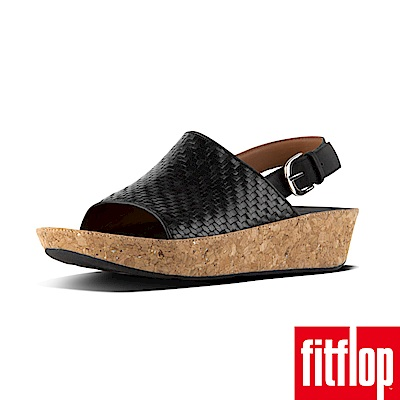 FitFlop BALI BACK-STRAP SANDALS黑