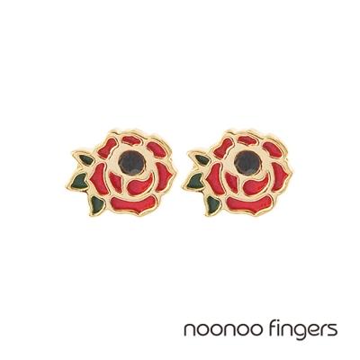 Noonoo Fingers Rose Earring 玫瑰 耳環