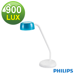 飛利浦 PHILIPS LIGHTING 酷琥LED檯燈-天空藍 72008