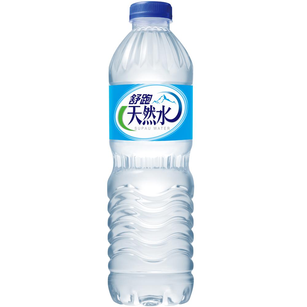 舒跑 天然水(600mlx24入)