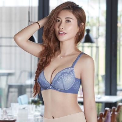 瑪登瑪朵 無鋼圈內衣  B-C罩杯(花蕊紫)