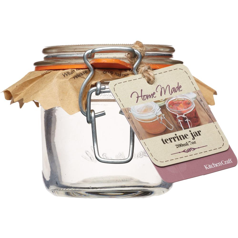 KitchenCraft 扣式密封玻璃罐(200ml)