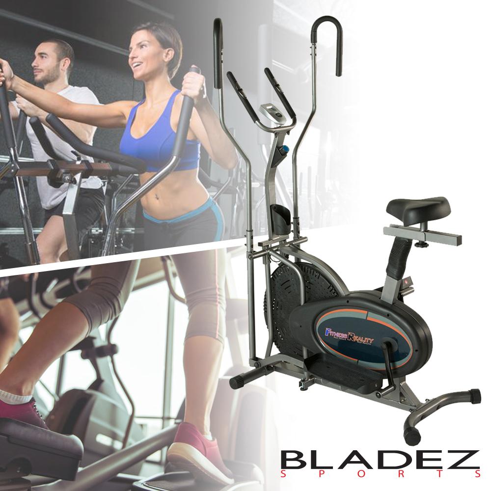 【BLADEZ】FITNESS REALITY風扇兩用坐式橢圓交叉訓練機 F2310
