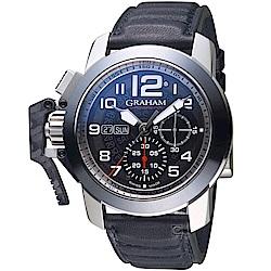 GRAHAM Chronofighter Steel錶(2CCAC.B33A.L143S)