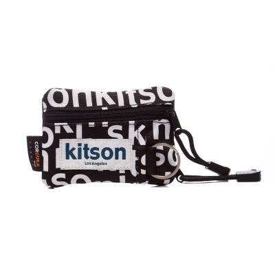 kitson Outdoor  印花圖騰 Pass case 鎖匙/萬用包-BLACK
