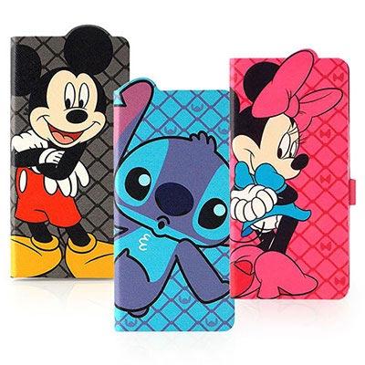 Disney HTC One M9+ 可愛人物造型可立式皮套