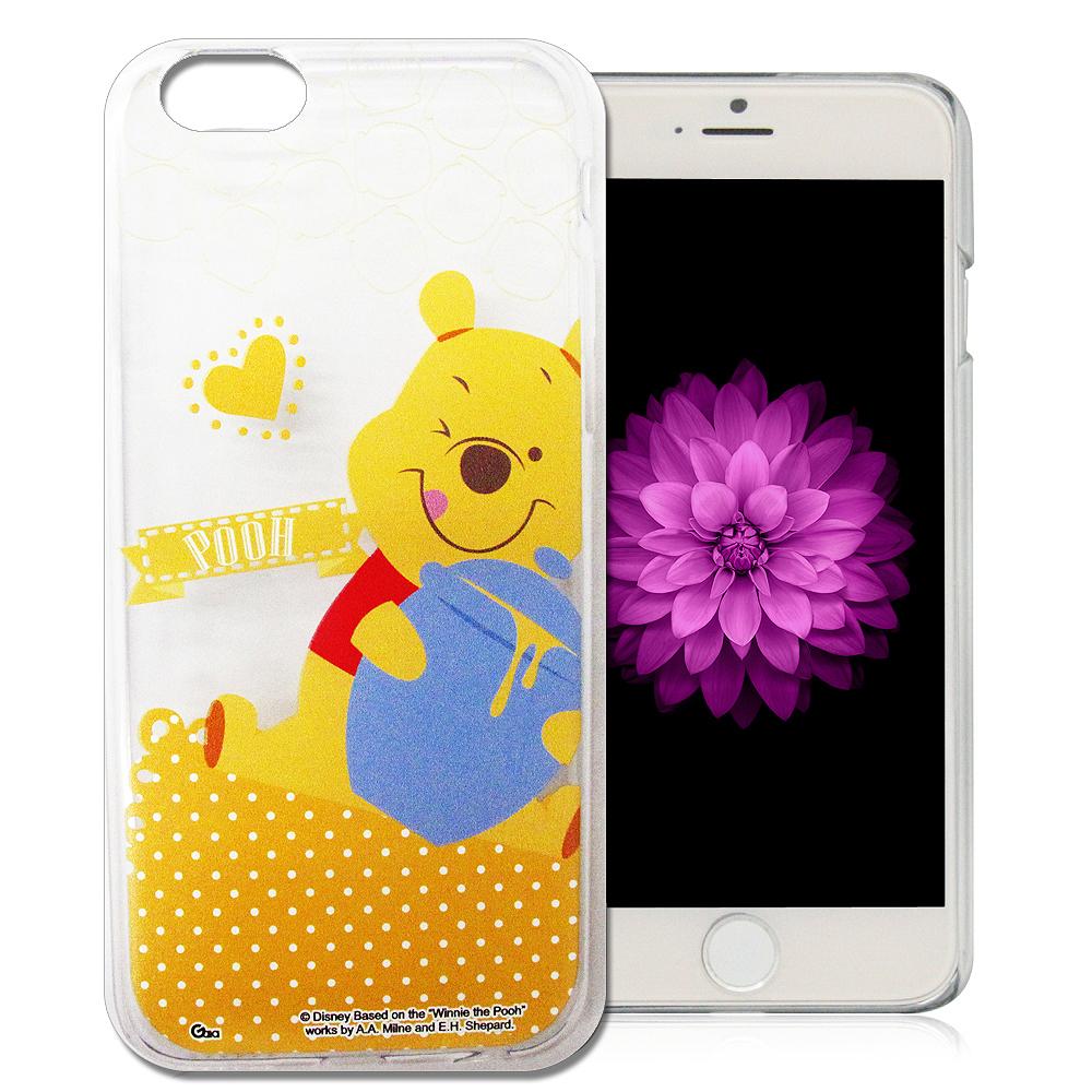 迪士尼 iphone 6 plus / 6s plus 休閒點點透明軟式手機殼(新秀組)