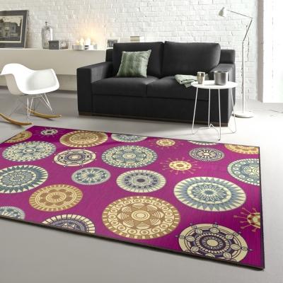 范登伯格 - 維拉 現代絲質地毯 - 晶球 (160 x 230cm)
