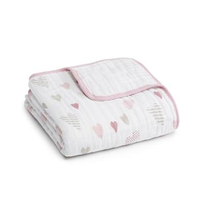 【美國 aden+anais】嬰幼兒被毯-愛心點點系列 AA6041