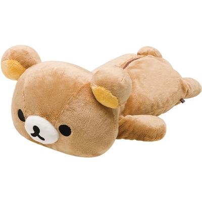 拉拉熊滿滿懶熊生活系列趴趴長毛絨大公仔 (L) 。懶熊