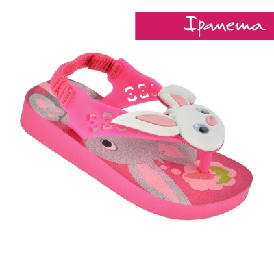 IPANEMA  活力貝比寶寶休閒涼鞋-粉紅兔子
