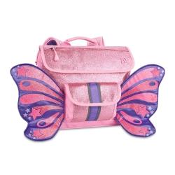 美國Bixbee - 飛飛童趣系列粉紅閃閃蝴蝶小童背包