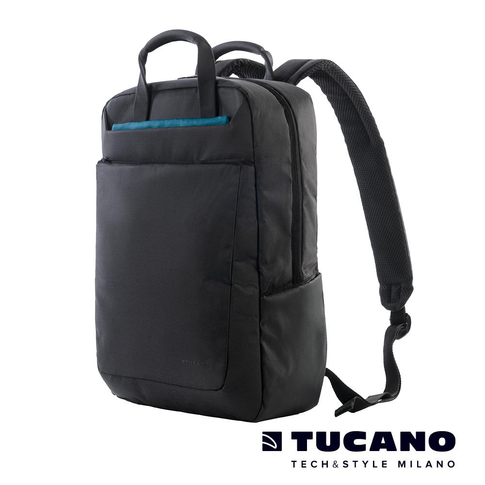 TUCANO WORK_OUT III 15吋多功能防震後背包-黑