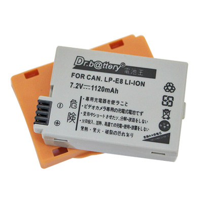 電池王 Canon LP-E8 單眼高容量鋰電池