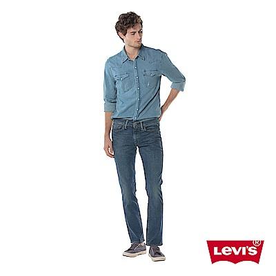 牛仔褲 男款 511 低腰窄管 彈性布料 - Levis