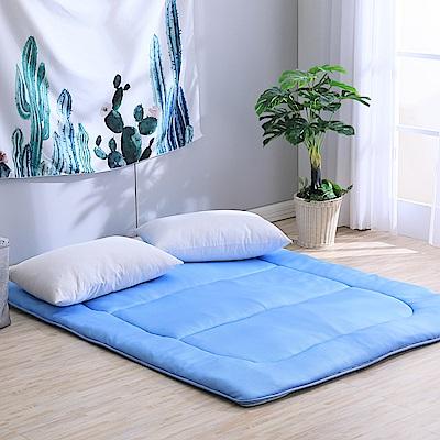 LAMINA 3D氣對流日式床墊5CM-藍(雙人)