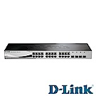 D-Link DGS-1210-28 24埠Gigabit Smart 交換器(聯強貨)