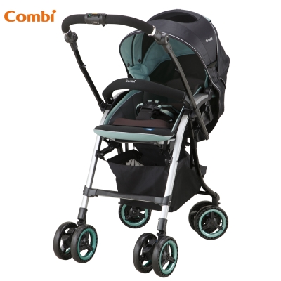 【Combi 康貝】 雙向嬰幼兒手推車(Nemurie UF800 寧靜綠)