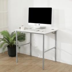 BuyJM鏡面白低甲醛粗管工作桌/寬80cm-DIY