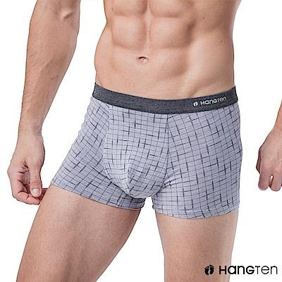 HANG TEN 舒適貼身平口褲_灰紫(HT-C12005)
