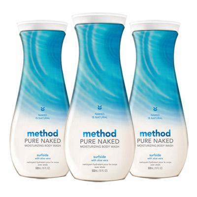 Method 美則 純淨天然沐浴露藍色衝浪手三件組
